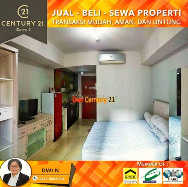 Studio Full Furnish at Mediterania Garden Residence with Pool View, Tanjung Duren Selatan, Jakarta Barat