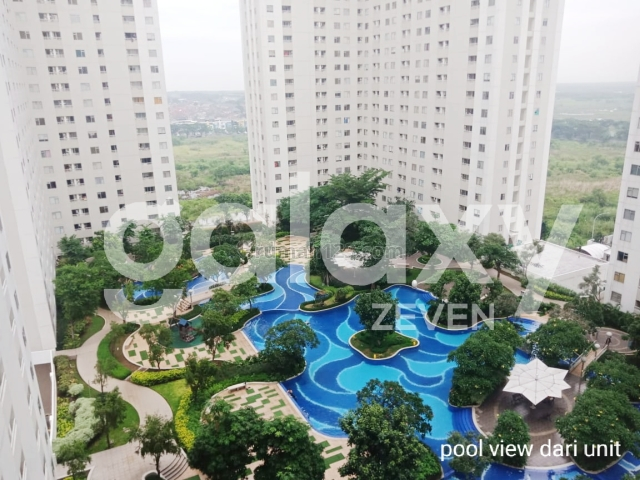 Apartemen 2BR Bagus Murah Educity Residence Pakuwon City, Pakuwon City, Surabaya