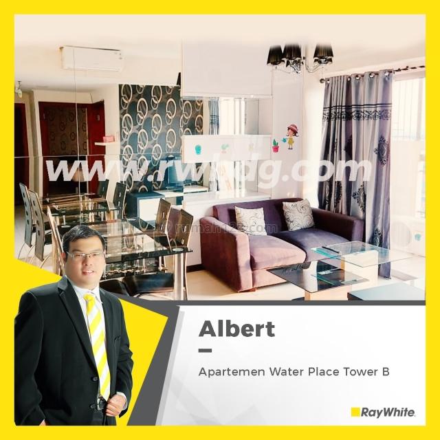 Murah!! Apartemen Waterplace Tower B 2BR Full Furnished, Wiyung, Surabaya