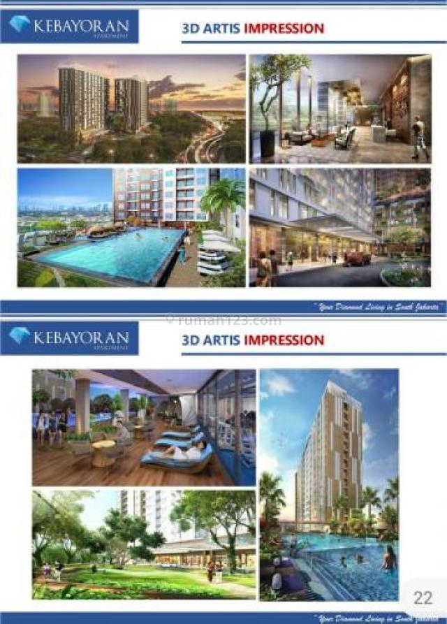 apartemen  Kebayoran di  Psanggrahan, Jakarta Selatan, Pesanggrahan, Jakarta Selatan