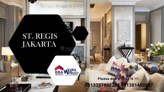 Apartemen 4 Kamar, Type Sky Villa & Premium Luxury @ ST REGIS Residences, Setiabudi Jakarta Selatan, Setiabudi, Jakarta Selatan