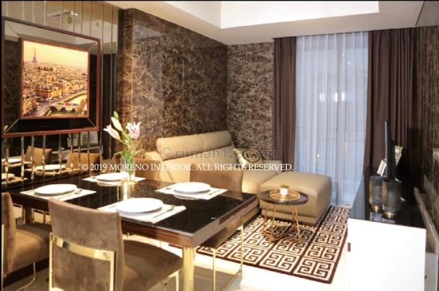 Apartemen Casa Grande Chianti 2 BR 76 m2 18 Juta LUX Unit Casagrande Casablanka Jakarta Selatan Eri Property, Cassablanca, Jakarta Selatan