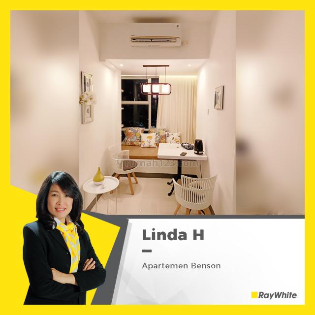 Apartemen Benson berada di lantai Hokky loo, Full Furnish, Wiyung, Surabaya