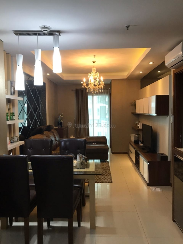 BEST DEAL !!! Condominium Greenbay Pluit 2BR Furnished RAPI View Laut, Pluit, Jakarta Utara