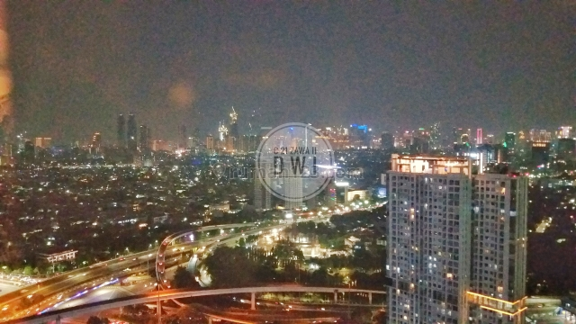 Best City View 3+1BR Full Furnish High Floor at Taman Anggrek Condominium West Jakarta, Tanjung Duren Selatan, Jakarta Barat