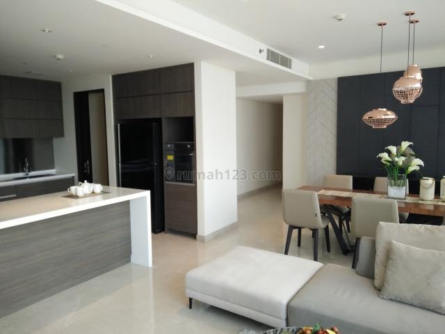 TERMURAH APARTEMEN Casa Domaine, 3BR, 168m2, FURNISH, siap Huni (081315212979), Karet Tengsin, Jakarta Pusat