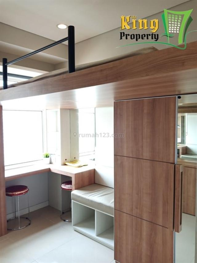 Studio Apartemen Madison Park Full Furnish Minimalis Fungsional Bagus Siap Huni., Grogol, Jakarta Barat