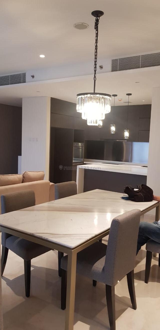 Apartemen Casa Domaine 3br uk 150m2 Best Price Furnished at KH Mas Mansyur Jakarta Pusat, Tanah Abang, Jakarta Pusat