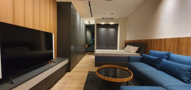 Sudirman Suites Apartemen, studio luas 41m2, fullfurnished, brand new., Bendungan Hilir, Jakarta Pusat