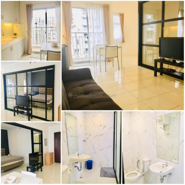 Apartemen Mediterania 2 Tanjung Duren 2 Bedroom Direnov Jadi 1 Bedroom Full Furnish Bagus, Central Park, Jakarta Barat