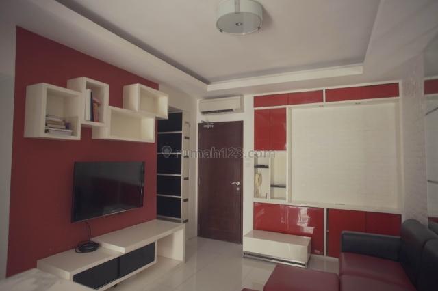 Apartemen Mediterania Garden 2 - 3BR Renov Jadi 2+1BR Lantai Tinggi Corner, Tanjung Duren, Jakarta Barat