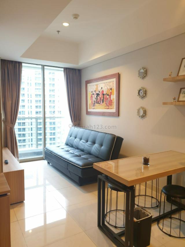 BAGUSSS!!! Apartemen Taman Anggrek Residence 1 Bedroom Furnished, Tanjung Duren, Jakarta Barat