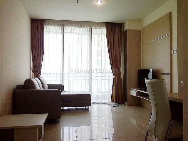 Disewa Cepat, Apartemen Central Park Residence Fullfurnish 2+1kmr, Tanjung Duren, Jakarta Barat