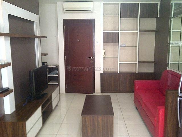 Disewa, Medit 2 Furnish Design 2Kmr 3 AC, Tanjung Duren, Jakarta Barat