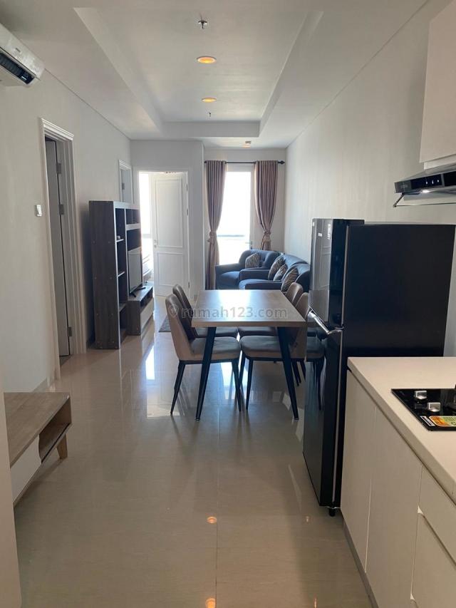 Apartemen  Grand Madison Condo 2BR Lantai Rendah  Full Furnished, Tanjung Duren, Jakarta Barat