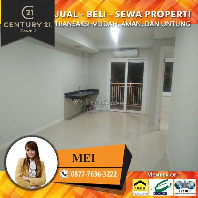 Apartemen Metro Park 2BR Unfurnished Lrendah Luas 53m2 View City, Kebon Jeruk, Jakarta Barat
