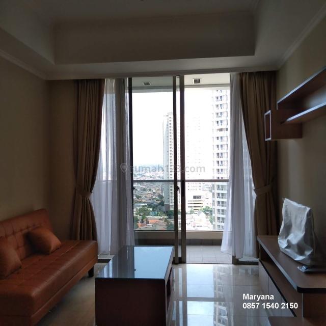 Condominium Taman Anggrek Residences 2+1 BR Furnish Brand New Siap huni, Taman Anggrek, Jakarta Barat