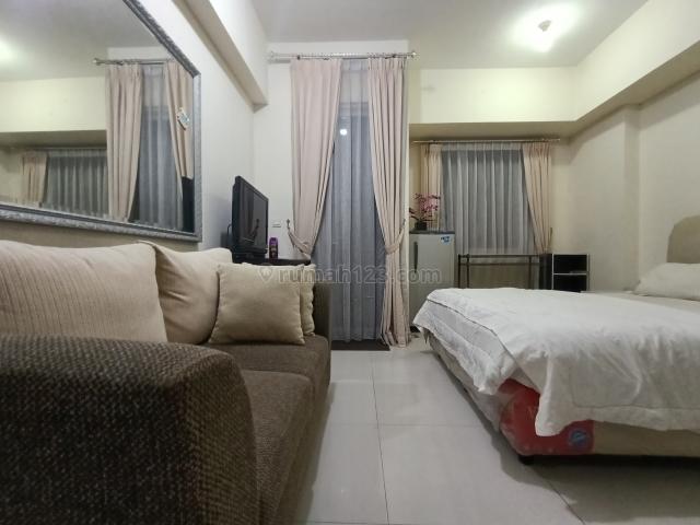 Recommended Westmark Apartment Taman Anggrek Studio Type Furnised interior, Grogol, Jakarta Barat
