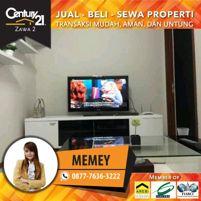 Apartemen Mediterania Garden 2 - Luas 42m2 2BR Furnished View Pool, Tanjung Duren, Jakarta Barat