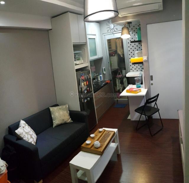 Apartment greenbay pluit 2br jadi 1br, full furnish rapi murah bgt, Pluit, Jakarta Utara