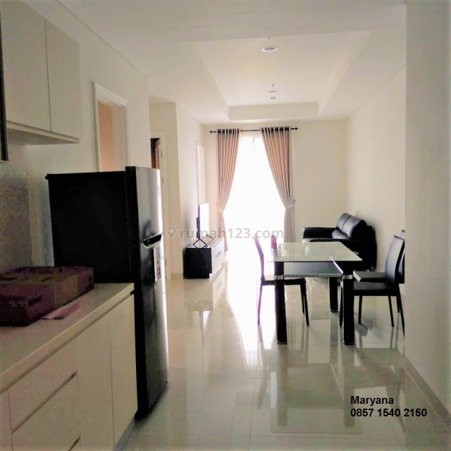 Apartemen Grand Madison di Central Park Brand New 2+1 BR Full Furnish Siap Huni, Central Park, Jakarta Barat