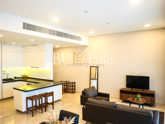 Apartemen Anandamaya Residences by Astra Property, 2 Bedroom 150sqm, Fully Furnished, Sudirman, Jakarta Selatan