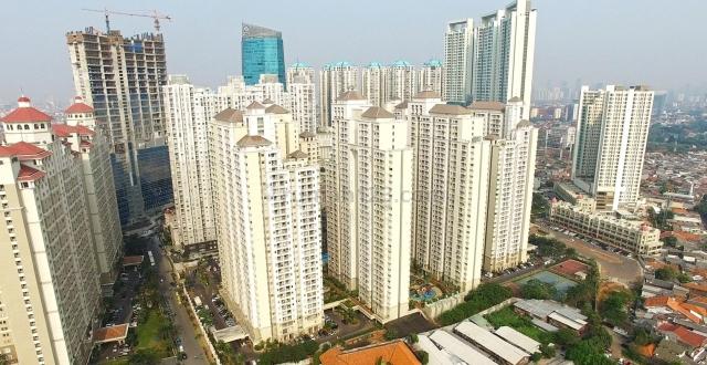 Apartemen Mediterania Garden Residence 1 type 2 BR size 40 m2 Furnished Tanjung Duren Jakarta Barat, Tanjung Duren, Jakarta Barat