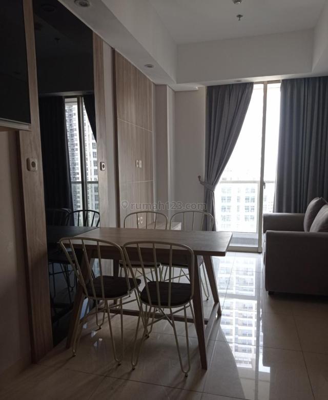 Apartemen Taman Anggrek Residence Tower Calypso 2 BR luas 51 m2 Semi Furnished Jakarta Barat, Taman Anggrek, Jakarta Barat