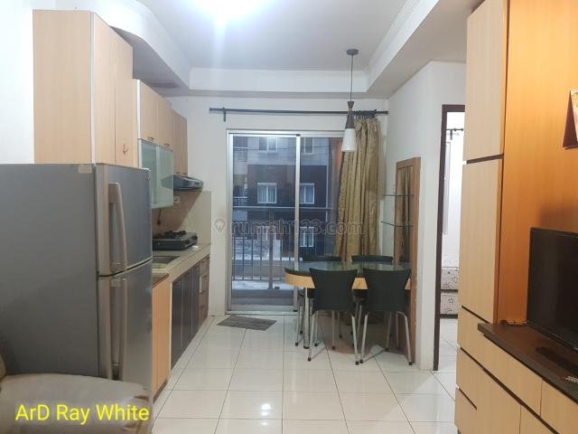 Apartemen Mediterania 2 Central Park 2 Bedroom Full Furnish Lantai Rendah, Central Park, Jakarta Barat
