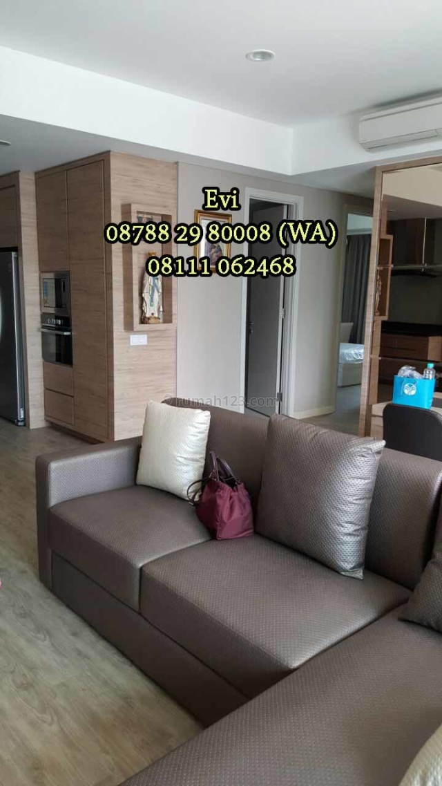 Apartemen St. Moritz 3BR+1 Private Lift Ambassador Tower Furnish, Puri Indah, Jakarta Barat