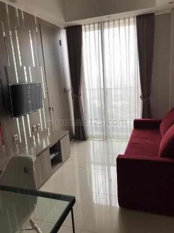 Apartemen Taman Anggrek Residence 1BR Furnished Lantai Tinggi, Taman Anggrek, Jakarta Barat