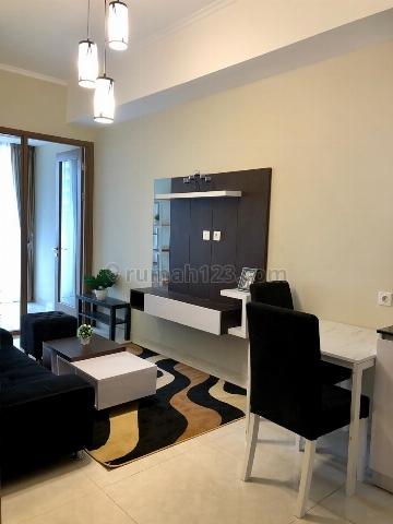 Taman Anggrek Residence 1 BR + 1 Condominium, New Full Furnished, Pool View, Taman Anggrek, Jakarta Barat