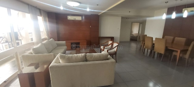 WTR APT PALM COURT AT MAMPANG TOWER 2 4BR FURNISHED CHEAP AND GOOD UNIT, Mampang, Jakarta Selatan
