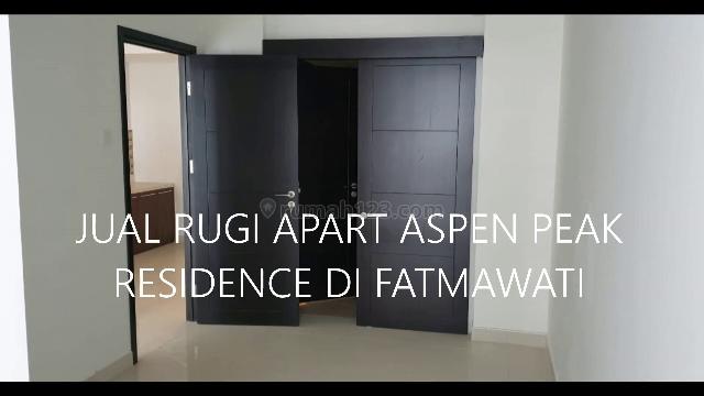 Apartemen  Aspen Peak Residence  Fatmawati 2BR UN FURNISHED, Fatmawati, Jakarta Selatan