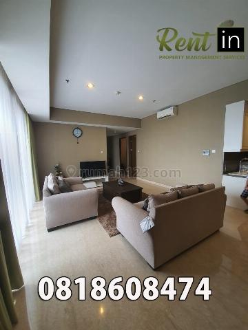 Apartemen 1 Park Avenue 3 Bedroom Lantai Tengah Furnished, Kebayoran Lama, Jakarta Selatan