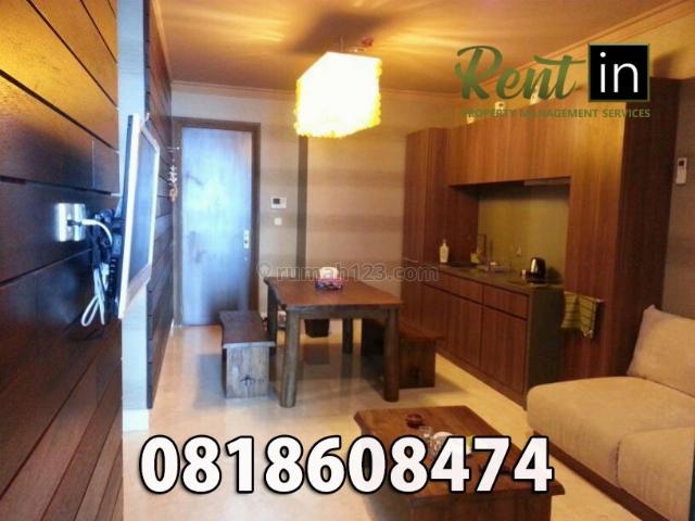 Apartemen Residence 8 Senopati 1 Bedroom Full Furnished Bagus, Senayan, Jakarta Selatan