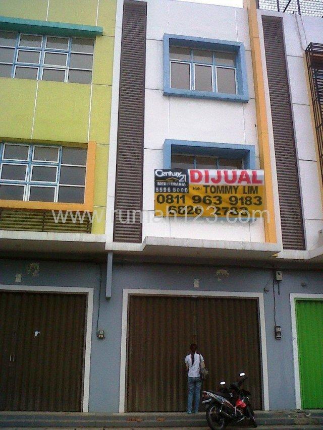 Rukan City Resort Malibu , Hadap Jalan, Parkiran Luas, Cengkareng, Jakarta Barat