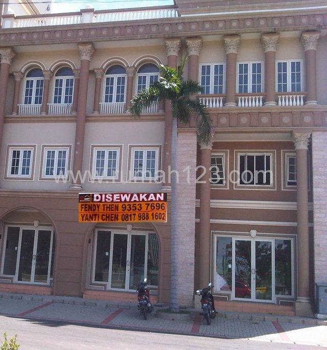 D I S E W A K A N Ruko Puri Mansion, Puri Mansion, Jakarta Barat