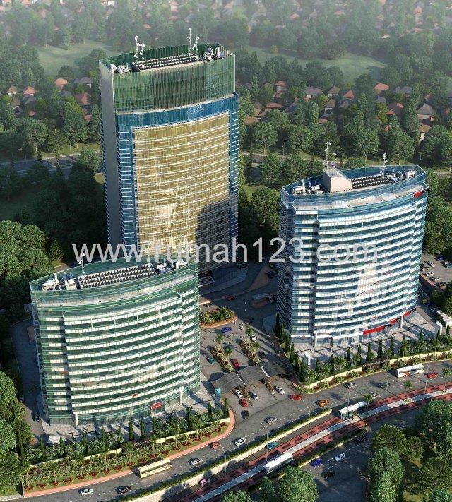 Wisma Pondok Indah 1, Ruang Kantor 100 M2-1000 M2, Pondok Indah, Jakarta Selatan