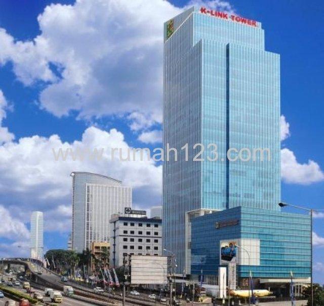 K-link Tower,pancoran,  Ruangan Kantor 100m2-1000m2, Gatot Subroto, Jakarta Selatan