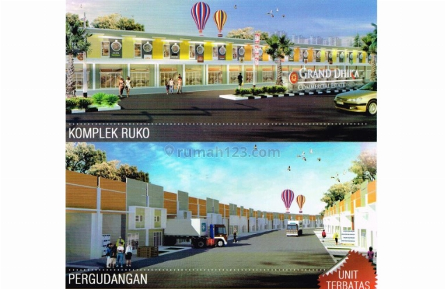 Komplek Ruko dan Pergudangan Grand Dhika, PT Adhi Karya, Semarang, Tugu, Semarang