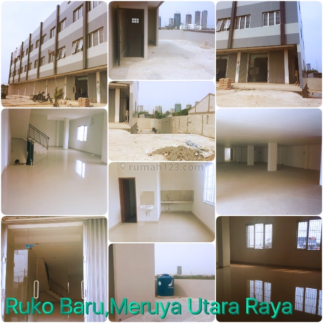 1 Unit Ruko BARU Hoek, Meruya Utara Raya, Jakarta Barat, (Pinggir Jalan Raya),, Meruya, Jakarta Barat
