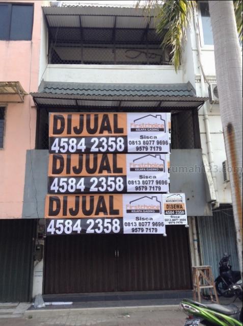 Ruko 3 lantai siap pakai...Gading Griya Lestari harga nego sampai deal, Cilincing, Jakarta Utara