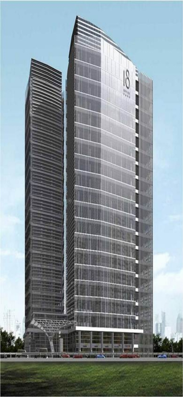 Ruang kantor Available 160 sqm, 180 sqm 18 Office Park Jl. Tb simatupang Jak-sel., TB Simatupang, Jakarta Selatan