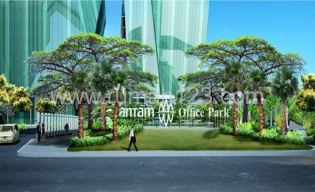 Antam Office Park, Tb Simatupang, Sewa Ruang Kantor 1000 M2, TB Simatupang, Jakarta Selatan