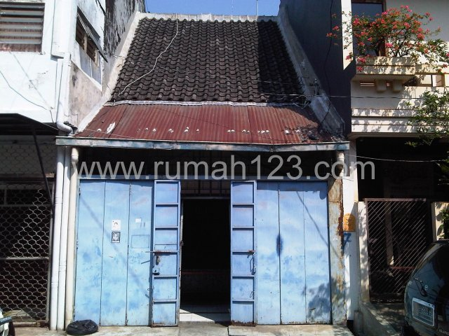 Ruko Jalan Kalikuping, Pecinan, Gang Pinggir, Kranggan, Semarang