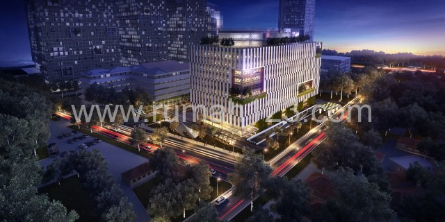 Cibis Tower 9, Simatupang,  Ruang Kantor 100 M2-1000 M2, TB Simatupang, Jakarta Selatan
