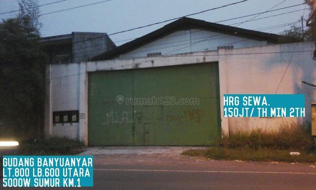 gudang cantik siap pake, Banyuanyar, Solo