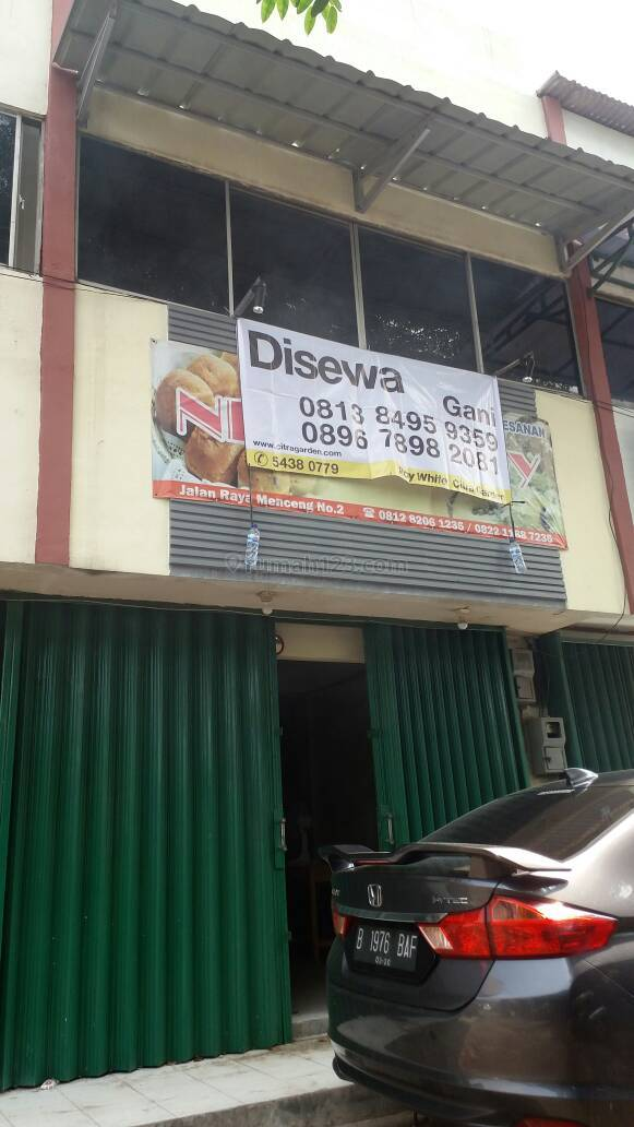 Menceng - Disewakan ruko siap usaha *2017/05/0028-GANLUC*, Kalideres, Jakarta Barat