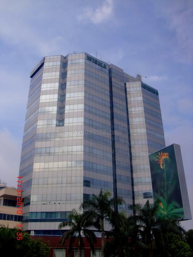 Tersedia Ruang Kantor 100-1000 di Wisma Korindo, Pancoran, Jakarta Selatan